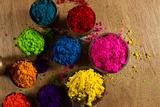 Indian Pigments Lámina fotográfica por  PicciaNeri
