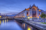 Batiment Des Forces-Motrices, Geneva, Switzerland, HDR Photographic Print by  Elenarts