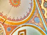 Iinterior Details of the Topkapi Palace at Istanbul in Turkey Photographic Print by imagIN photography