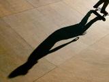 Skateboarder Performs During an Exhibition in Mallorca Fotografisk trykk av Dani Cardona