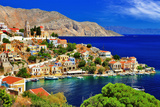 Wonderful Greece. Symi Island , Dodecanese Photographic Print by  Freesurf