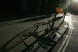 A Bike Is Seen in the City of London Photographic Print by Alessia Pierdomenicor