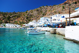 Greek Coastline Village of Loutro in Southern Crete Photographic Print by  singidavar