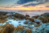 Sunrise at Sachuest Wildlife Refuge Photographic Print by  mcdonojj
