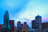 Dallas_Night_Fromthewestend Photographic Print by  ericurquhart