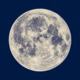 Fullmåne Fotografisk trykk av Claudio Divizia