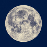 Full Moon Photographic Print by Claudio Divizia