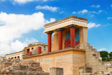 Knossos Palace at Crete, Greece Photographic Print by  neirfy