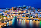 Agios Nikolaos, Crete, Greece Photographic Print by Vladimir Sklyarov