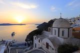 Santorini Sunset, Greece Fotografisk tryk af  AnastasiiaUsoltceva