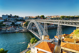 The Dom Luis Bridge in Porto, Portugal. Photographic Print by  efired