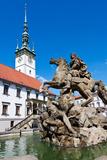 Caesar Fountain, Townhall, Olomouc, Czech Republic Photographic Print by  kaprikfoto