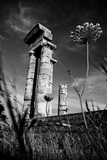 Acropolis Ruins in Rhodes, Greece Photographic Print by  EvanTravels