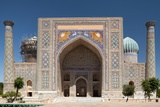View of Sher-Dor Madrasa, Samarkand Photographic Print by  v_apl