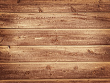 Old Wood Background - Vintage with Yellow and Brown Colors Photographic Print by  milotus