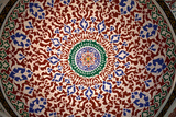 Abstract Arabian Dome Ceiling Stampa fotografica di  EvanTravels