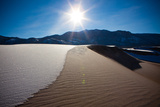Great Sand Dunes in Snow Photographic Print by  EvanTravels