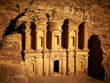 The Monastery in Petra, Jordan Photographic Print by  silver-john