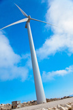 Modern Wind Turbine against Sky Photographic Print by  EvanTravels