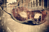 Carnival of Venice, Double Exposure Fotografisk tryk af  nito