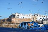 Essaouira Fotografisk tryk af Massimo Beccegato