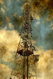 Grunge Telecommunication Photographic Print by  alexskopje