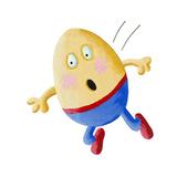 Humpty Dumpty Fall Premium Giclee Print by  andreapetrlik