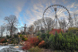 HDR Gothenburg Liseberg Theme Park Atmosfear Photographic Print by  tingpangngee