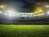 Stadium Photographic Print by Vitaly Krivosheev