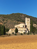 Italy. Tuscany. Val D'orcia. Sant'antimo Church Photographic Print by  katvic