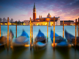 Sunset in Venice. Italy Photographic Print by  silver-john