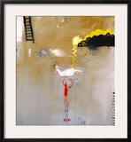 Abstract Variation 22 Framed Giclee Print by T.L. Lange
