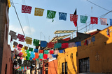 Colourful Mexican Houses Photographic Print by Rafael Ben-Ari