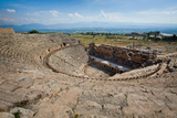 Ruined Amphitheater - Pamukkale, Hierapolis, Turkey Photographic Print by  EvanTravels
