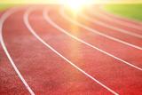 Running Track Photographic Print by  peshkov