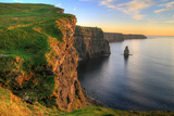 Cliffs of Moher at Sunset - Ireland Photographic Print by Patryk Kosmider