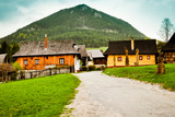 Traditional Village in Slovakia Photographic Print by  Mangojuicy