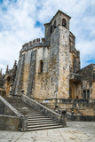 View of the Beautiful Convent of Christ in Tomar, Portugal. Photographic Print by  naughtynut