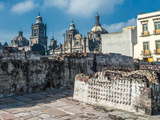 Templo Mayor, the Historic Center of Mexico City Photographic Print by  javarman