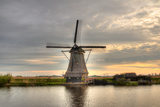 Windmills in Kinderdijk, Netherlands Photographic Print by  Jag_cz