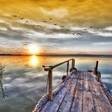 El Lago De Los Sueños . HDR Photographic Print by  kesipun