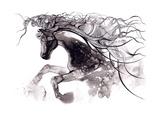 Horse Prints by  okalinichenko