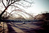 The Cyclone - Coney Island Roller Coaster Parking Lot Photographic Print by  EvanTravels