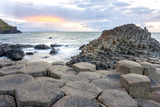 Sunset at Giant S Causeway Photographic Print by  Aitormmfoto