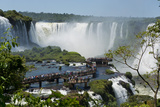 Garganta Del Diablo at the Iguazu Falls Fotografiskt tryck av Fabio Lotti
