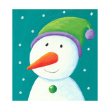 Funny Snowman Prints by  andreapetrlik