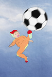 Funny Kid Scores. Football, Easiness Prints by  vipa21
