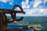 Sculpture (Comb of the Wind by Chillida) - San Sebastian Photographic Print by  EvanTravels