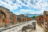 Street in Pompeii, Italy Photographic Print by  scaliger