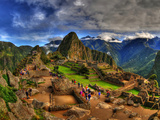 The Machu Picchu in HDR Photographic Print by  aharond